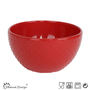 Red DOT Ceramic Stoneware Bowl pictures & photos