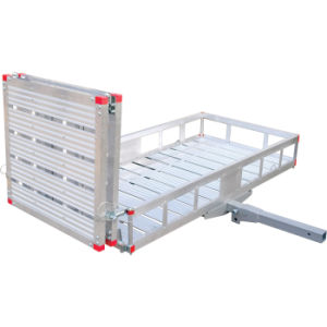 Aluminum Folding Cargo Carrier with Ramp pictures & photos