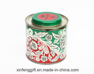 Round Gift Tin Box for Tea and Candy pictures & photos