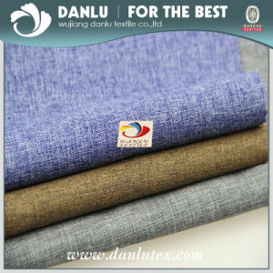 100% Polyester Imitation Linen Oxford Fabric for Bag pictures & photos