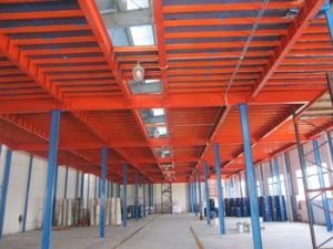 Steel Structure Warehouse Storage Mazzanine Racking pictures & photos