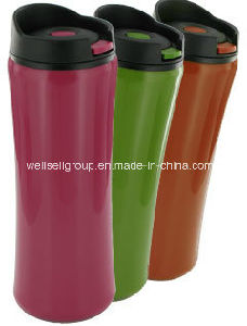 14 Oz Clicker Travel Mug BPA-Free (CPBZ-4084) pictures & photos