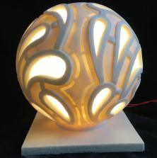 Sandstone Ball Garden LED Light Lantern pictures & photos