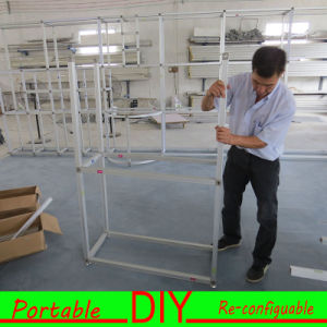 Custom Green DIY Portable Versatile Modular Exhibition Display Systems pictures & photos
