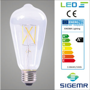St64 4W Filament LED Bulb pictures & photos