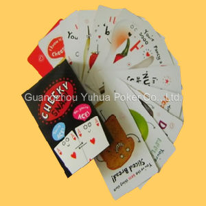 Custom Special Shape Game Cards Playing Cards pictures & photos