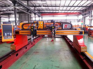Multiple Torches High Duty Gantry Type CNC Gas Cutting Machine pictures & photos