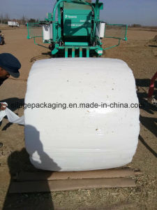 Silage Bale Film Width 250mm/500mm/750mm Thickness25um Green, White and Black Colour pictures & photos