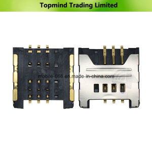 Mobile Phone Parts for LG E430 Optimus L3 II SIM Card Reader Contact pictures & photos