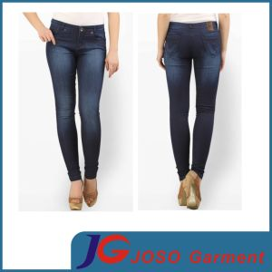Black Length Jeans Skinny Fit Jeans Buy for Lady (JC1366) pictures & photos