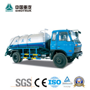 Top Quality Toillet Vacuum Truck of 10-12m3