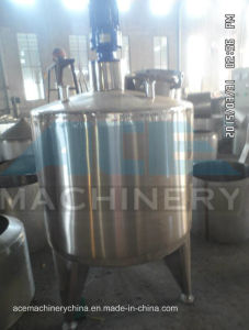 500litres Sanitary Steam Heating Stainless Steel Mixing Tank (ACE-JBG-0.5Z) pictures & photos