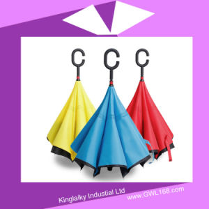 New Design Handstand Double Layers Umbrella P016-023 pictures & photos