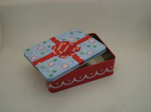 Decorated Tin Box for Packing Birthday and Christmas Gift pictures & photos