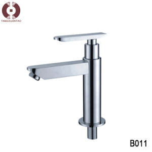 Shower Room Accessories Cold Warm Water Control Basin Faucet Water Tap (B011) pictures & photos