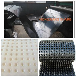 HDPE Dimple Geomembrane Composite Geotextile for Artificial Soccer Field pictures & photos