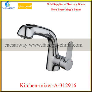360 Swivel Pull out Spray Kitchen Sink Faucet pictures & photos