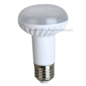 New 8W/640lm E26/E27 Material Plastic + Aluminum Body R63 LED Bulbs pictures & photos