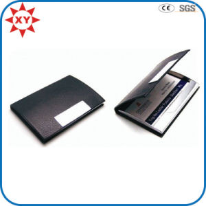New Product Free Samples Leather Business Card Holder pictures & photos