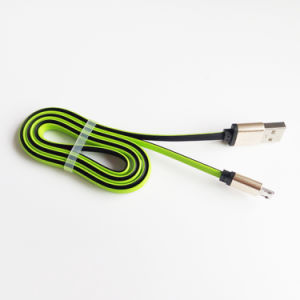 Multifunctional 3 in 1 USB 8 Pin and Type C Data Cable (LC-CB1005) pictures & photos