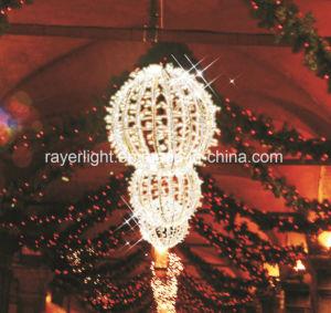 LED Garden Christmas Lights 30cm Decorative Ball Motif Light pictures & photos