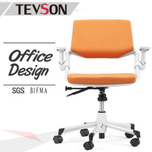 Modern Plastic Shell with Foam and Fabric Staff Office Swivel Task Clerk Chair pictures & photos