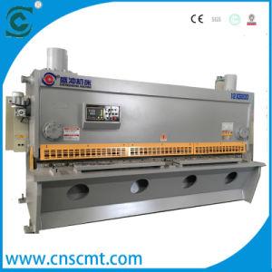 40*3200mm QC11k Hydraulic Guillotine Shearing Machine