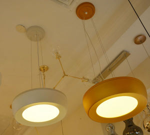 White/ Gold LED Pendant Lamp Lighting in 3 Color Temperature pictures & photos