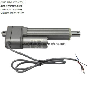 China mini linear actuator 12v 150mm stroke 200n micro for Miniature stepper motors with linear actuation
