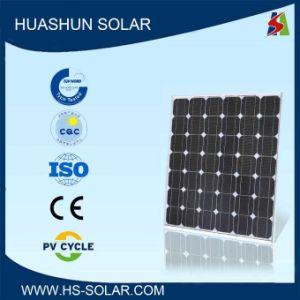 Huashun 115-130W 125X125 Monocrystalline Solar Panel (SH-130S5-16)