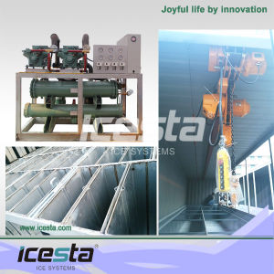 10t/Day Industrial Block Ice Making Machine for Fish Cooling pictures & photos
