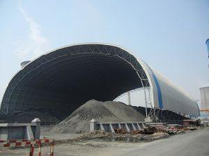 Large Span Prefabricated Arch Steel Building pictures & photos