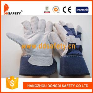 Cow Split Leather Glove Dlc216 pictures & photos
