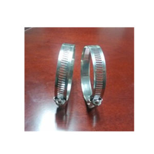 Saddle Hose Clamp, Stainless Steel American Type Clamp pictures & photos