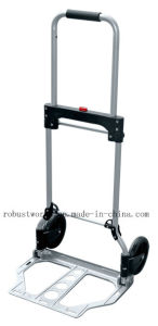 Foldable Aluminum Hand Truck (HT022E) pictures & photos