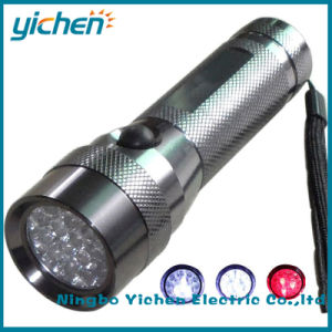 19 LED Flashlight (16 white LED and 3 red LED)  (YC703WA1-19L)