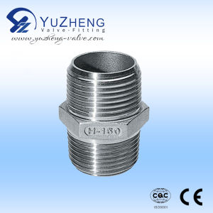 304 Stainless Steel Thread Nipple Manufacturer in China pictures & photos