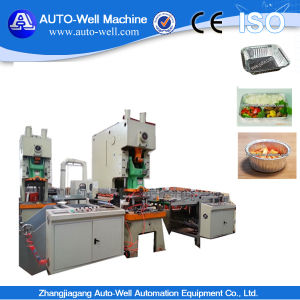 Takeaway Aluminum Foil Container Food Container Machinery pictures & photos