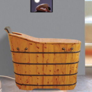 New Design Health Maintenance Wooden Soaking Tub (NJ-001A) pictures & photos