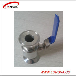 Wenzhou Stainless Steel 316 Sanitary Clamped Ball Valve pictures & photos