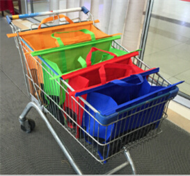 Supermarket Shopping Cart Bags