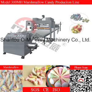 Fully Automatic Marshmallow Candy Production Line with Multi-Shape pictures & photos