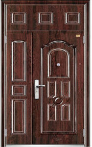 Steel Door From China Export Best Price Iron Door (9161) pictures & photos