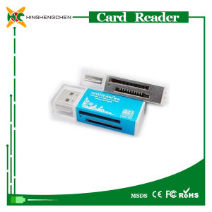 Hot Aluminum Housing 2.0 Micro SD Card Reader pictures & photos