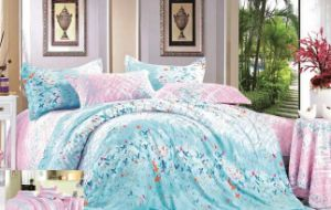 Cotton Bedding Set Creative Printing Duvet Cover Set pictures & photos