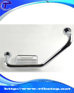 Washroom Stainless Steel Tube Door Pull Handle pictures & photos