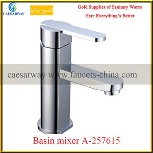 Chrome Plated Long Spout Water Kitchen Sink Tap pictures & photos