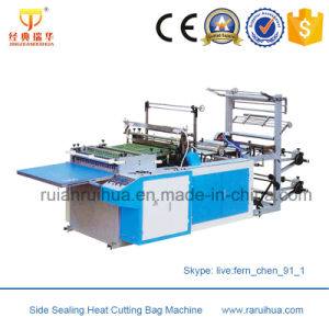 Heat Sealing and Cutting Air Bubble Bag Making Machine pictures & photos
