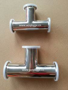 3A 304/316L Sanitary Stainless Steel Clamped Equal Tee pictures & photos