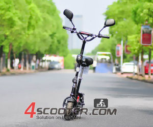 2107 New Lithium Battery Adult 2 Wheel Electric Scooter pictures & photos
